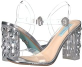 Betsey Johnson Blue By Blue by Erika Heeled Sandal (Clear) Women's Shoes