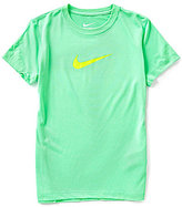 Nike Big Girls 7-16 Legend Short-Sleeve Top