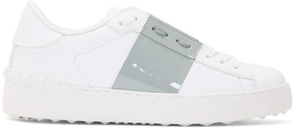 Valentino White Garavani Open Sneakers