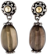 John Hardy Smoky Quartz Drop Earrings
