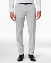 INC International Concepts Men's Slim-Fit Grey Chambray Pants, Created for Macy's