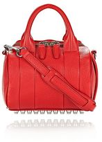 Alexander Wang Mini Rockie In Pebbled Cult With Rhodium