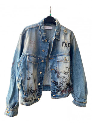 IRO Blue Denim - Jeans Jackets