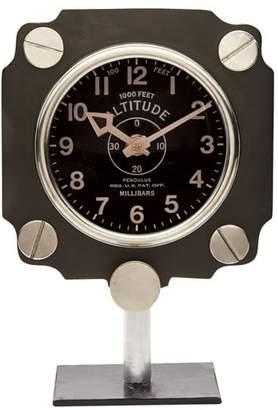 Pottery Barn Altimeter Mantel Clock