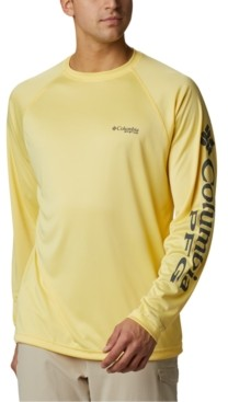 Columbia Men's Pfg Big & Tall Terminal Tackle Long-Sleeve T-Shirt