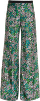 Missoni Wide Leg Feather Print Trs #25