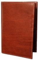 Trafalgar Men's 'Cortina' Passport Case - Beige