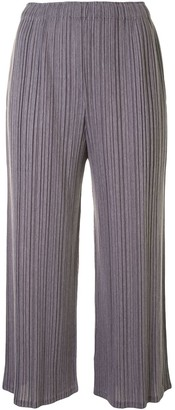 Pleats Please Issey Miyake Pleated Design Culottes