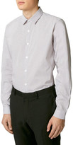 Topman Slim Fit Pin Dot Dress Shirt