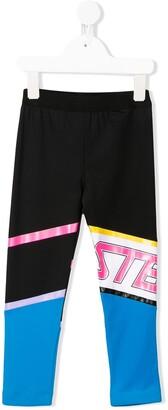 Stella McCartney Stretch Logo Print Leggings