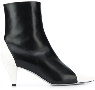 Givenchy colour block ankle boots