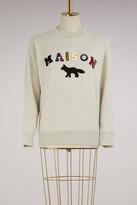 MAISON KITSUNÉ Cotton Maison Fox sweat shirt