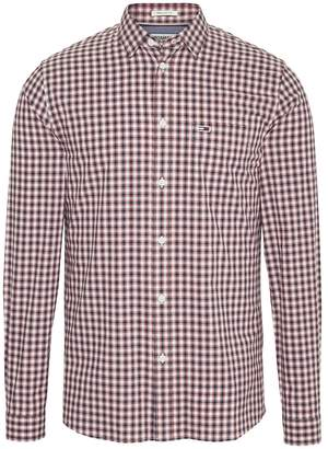Tommy Jeans Cotton Straight Checked Shirt