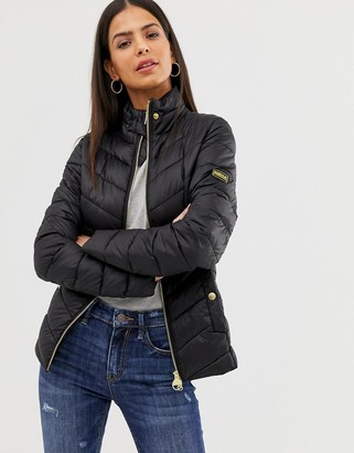 Barbour International Aubern quilt jacket