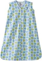Halo SleepSack Wearable Blanket 100% Cotton - Turquoise Owl (Small)