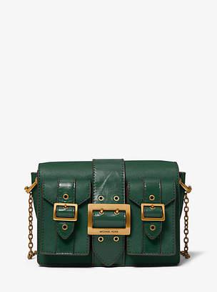 Michael Kors Hayden Medium Saffiano Leather Messenger Bag