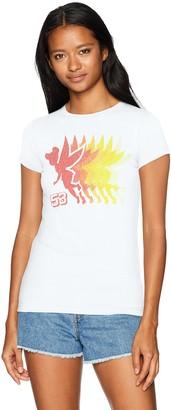 Disney Women's Tinkerbell Crew Neck Graphic T-Shirt