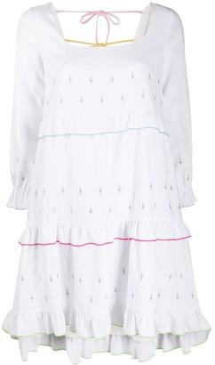 Olivia Rubin Odelia embroidered mini dress