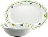 French Home Fine Porcelain Serving Set (2 PC)