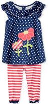 Nannette 2-Pc. Shirt & Leggings Set, Toddler & Little Girls (2T-6X)