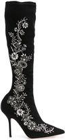 Alberta Ferretti embellished boots