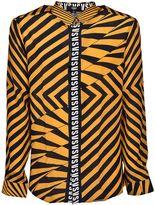 Versus Diagonal Striped Shirt