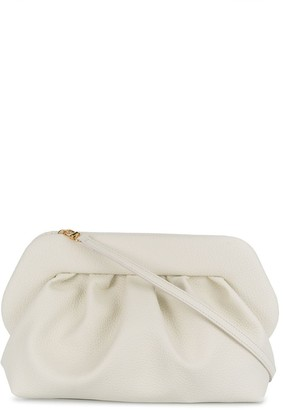 Themoire Ruched Detail Clutch