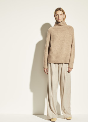 Vince Cashmere Donegal Turtleneck