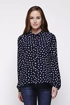 Yumi Smudge Spot Shirt Navy
