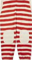 Stella McCartney Striped cotton leggings
