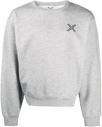 Kenzo Logo Cotton Sweatshirt