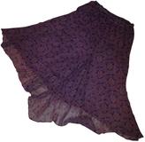 Isabel Marant Purple Silk Skirt