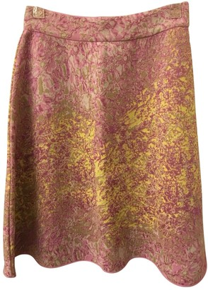 M Missoni Pink Cotton Skirt for Women