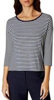 Karen Millen Breton Striped Top