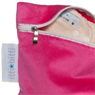Itti Bitti Luxury Minkee Wet Bag (One Size, Fuchsia)