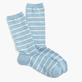 J.Crew Trouser socks in stripe