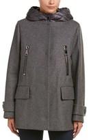 Moncler Euphemia Wool Coat.