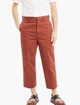 Marni Rust High-waisted Trousers