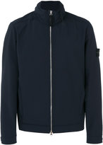Stone Island high neck lightweight jacket - men - Elastodiene/Polyester - S
