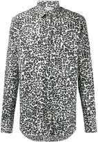 Alexander McQueen leopard print shirt