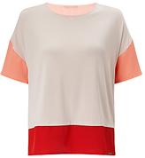 HUGO BOSS BOSS Orange Tustripe Colour Block T-Shirt