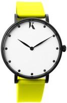 Ksana Neon Yellow Vegan Watch - 38mm