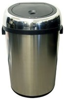 iTouchless IT23RC 87-Litre Large Size Stainless Steel Sensor Touchless Trash Can