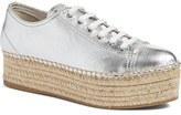 Miu Miu Espadrille Platform Sneaker (Women)