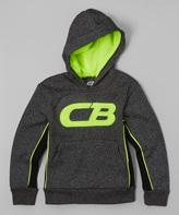 CB Sports Neon Lime Logo Hoodie - Boys