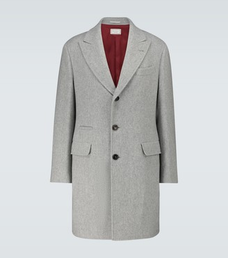 Brunello Cucinelli Long-length cashmere coat
