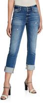 Frame Le Nik Straight-Leg Jeans