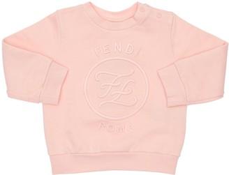 Fendi Embroidered Cotton Sweatshirt