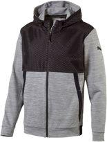 Puma Tech Full-Zip Fleece Hoodie