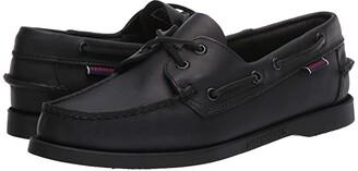 Sebago Dockside Portland (Total Black) Women's Shoes